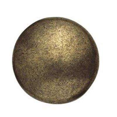 1.18 in. Polished Brass Knob
