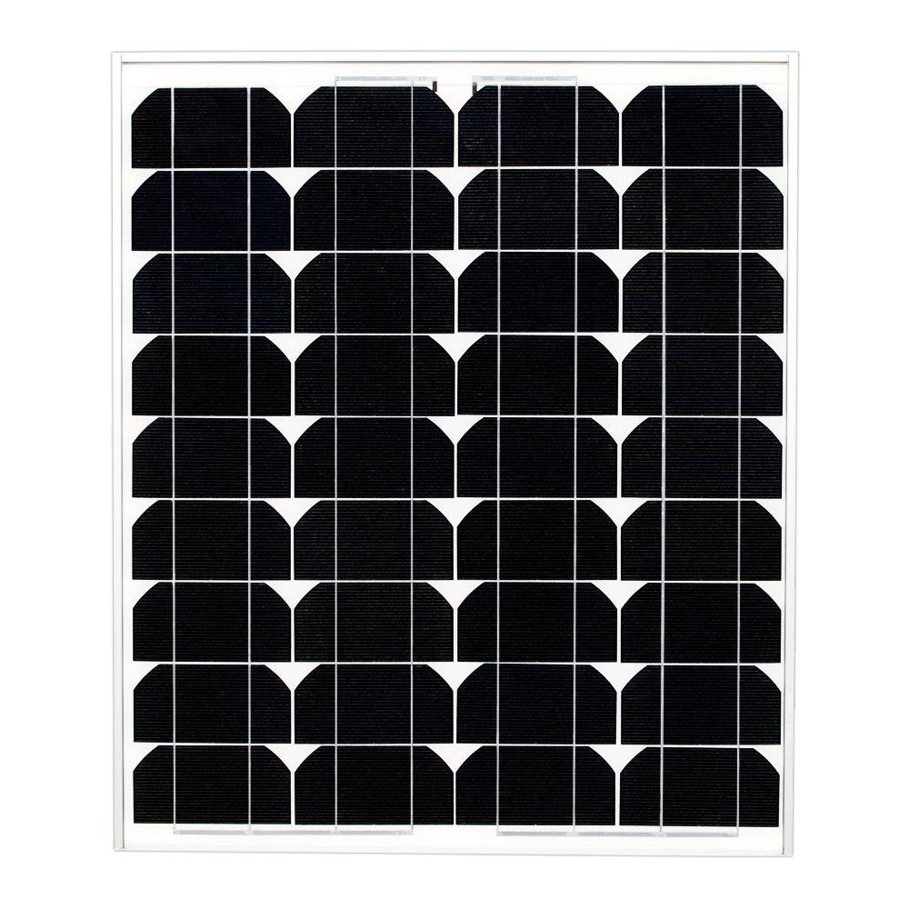 Ramsond 50-Watt 12-Volt Monocrystalline PV Solar Panel