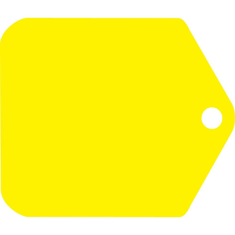 20 in. x 24 in. Corrugated Plastic Make Your Own Yellow