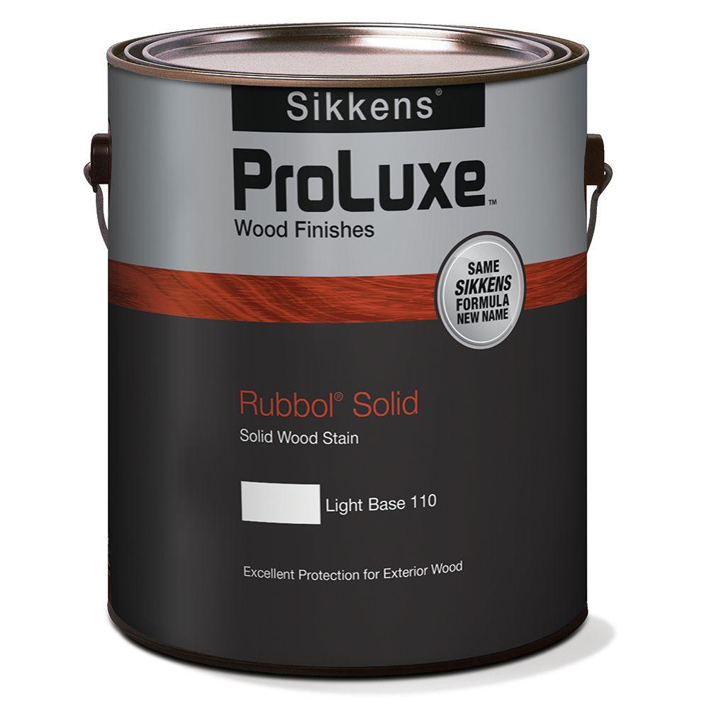 1 gal. Deep Base Rubbol Solid Deep Exterior Wood Finish