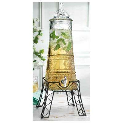 1.5 Gal. Eiffel Tower Dispenser on Stand