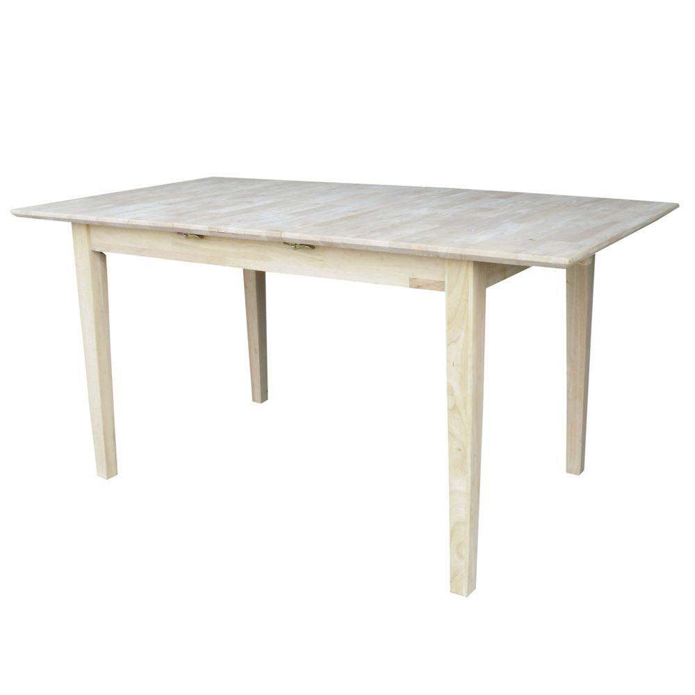 unfinished kitchen table international concepts unfinished dining table k t32x 30s 3041