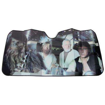 Star Wars Millennium Falcon Accordion Windshield Sunshade