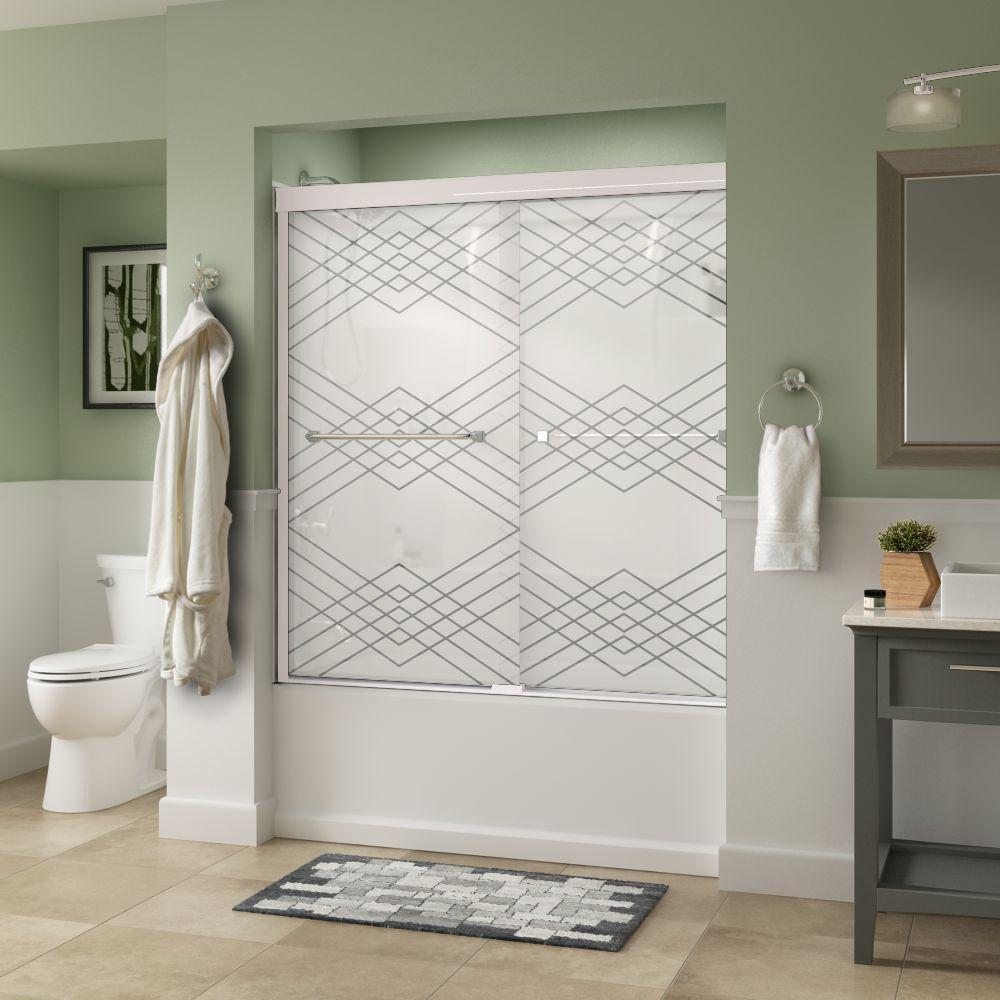 Clear - Bathtub Doors - Bathtubs - The Home Depot
