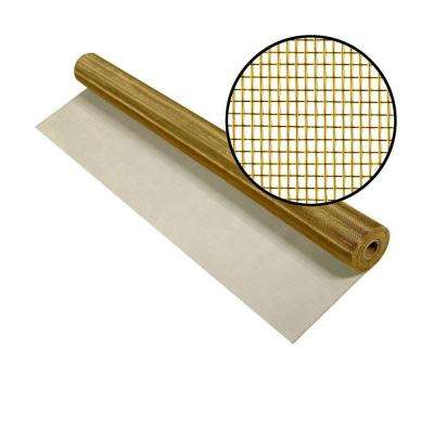48 in. x 50 ft. Brite Bronze Screen
