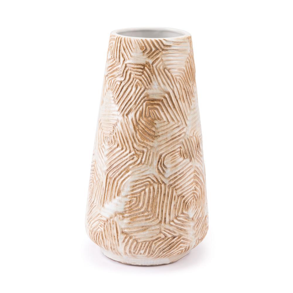 Beige Medium Decorative Vase
