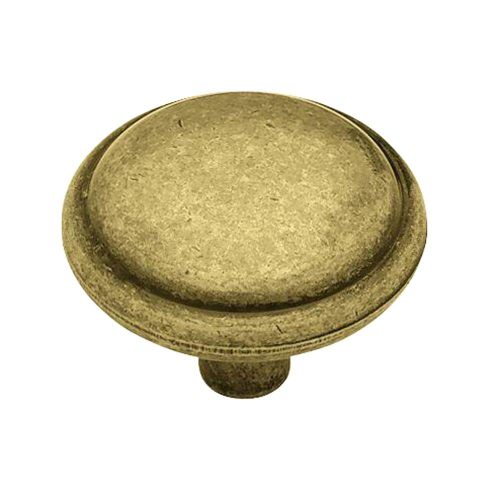 Liberty 1-1/4 in. Antique English Domed Top Round Cabinet Knob