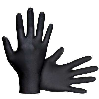 Large Powder-Free 6mil Nitrile Disposable Gloves (50-count) (Case of 12)