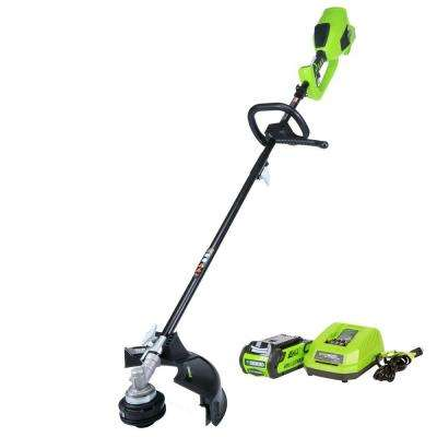 Digi-Pro GMAX 40-Volt Brushless Cordless String Trimmer - Battery and Charger Included