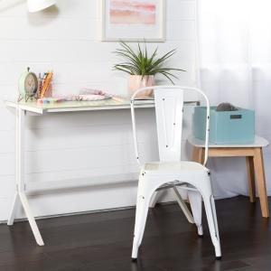 Fabulous Walker Edison Furniture Company Stackable Metal Cafe Bistro Theyellowbook Wood Chair Design Ideas Theyellowbookinfo
