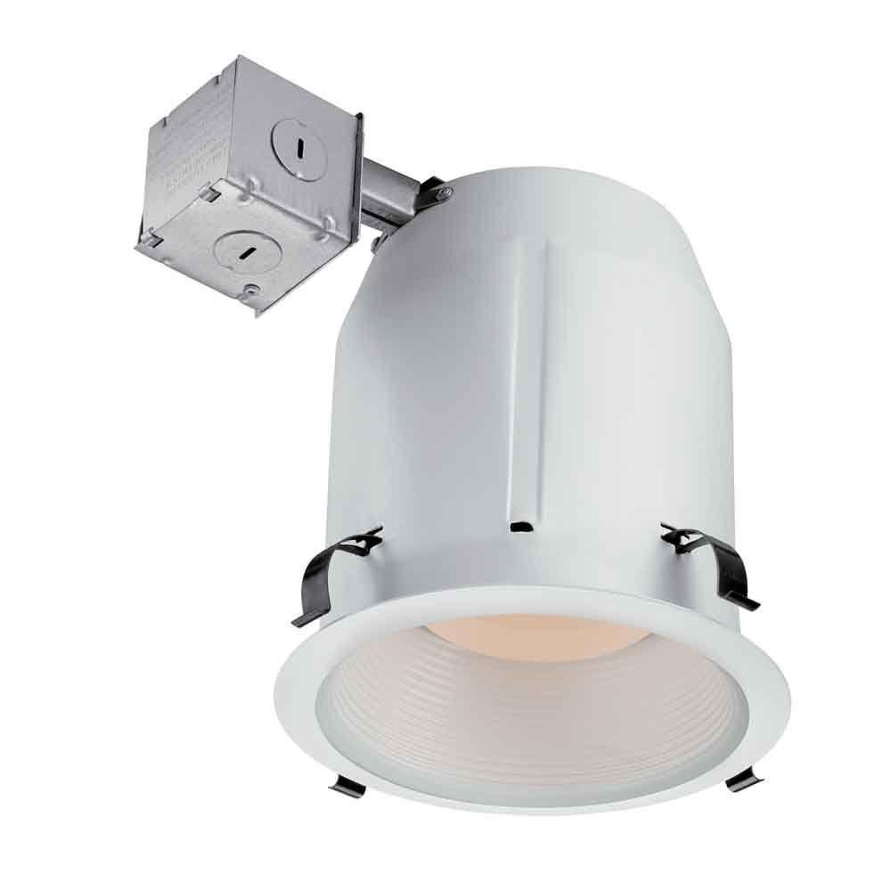 COMMERCIALELECTRIC Commercial Electric 5 in. White Recessed Baffle Kit