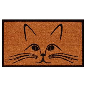 Home & More Purrfection Door Mat 17 inch x 29 in. by Home & More