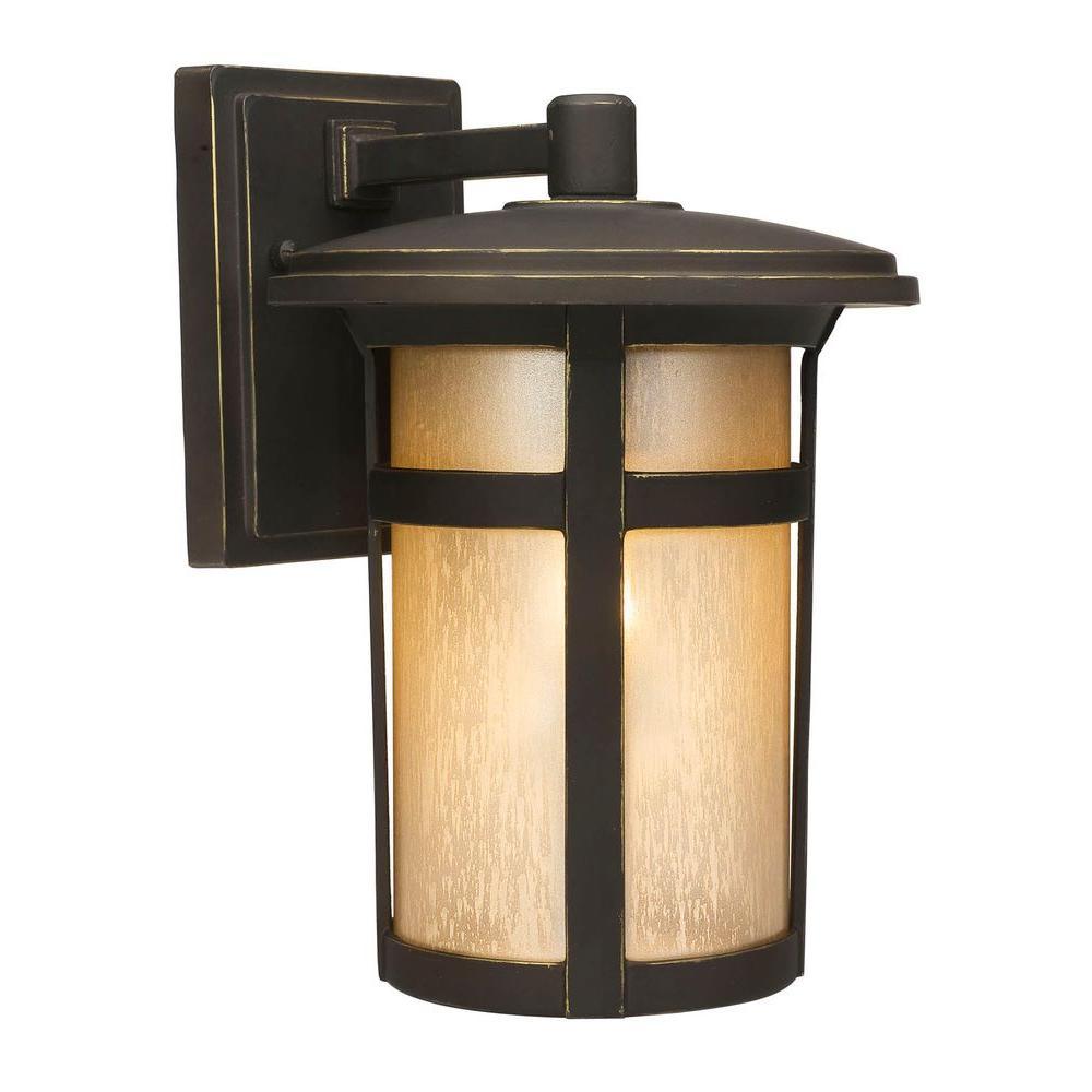 Home decorators collection round craftsman 1 light dark for Home decorators warehouse