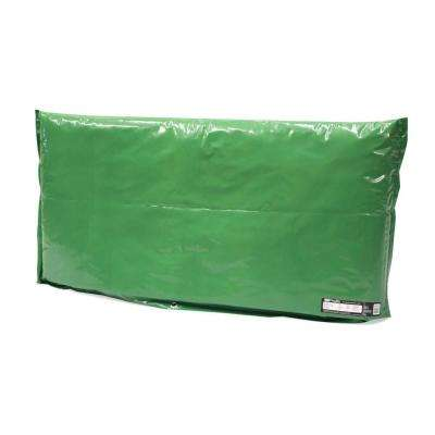 48 in. L x 30 in. H Large Fiberglass Encapsulated Green Plastic Insulation Pouch