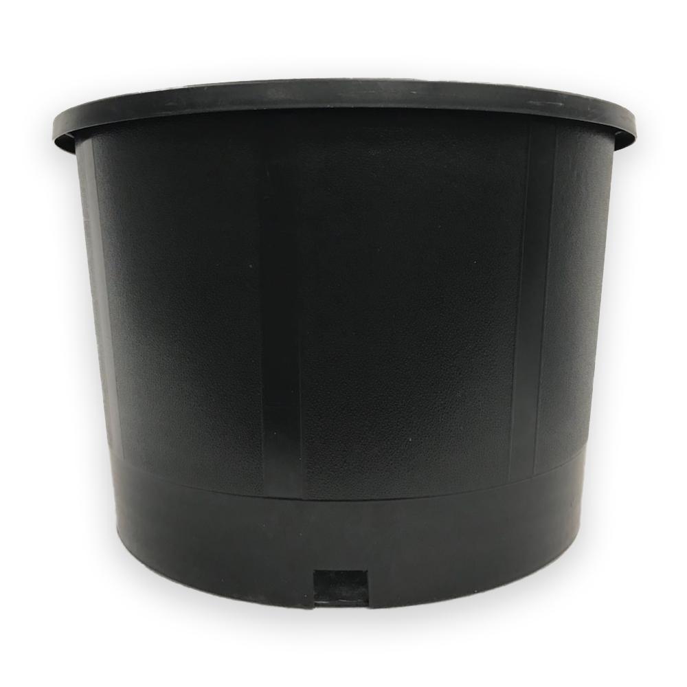 3 Gal 11 In X 9 5 Bpa Free Heavy Duty Hydroponic Black Plastic Nursery Pots
