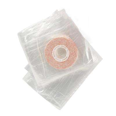 84 in. x 110 in. Clear Plastic Patio Indoor Shrink Window Kit
