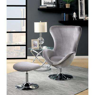Egg Chair Accent Chairs.Egg Chair Faux Leather Solid Accent Chairs Chairs The Home