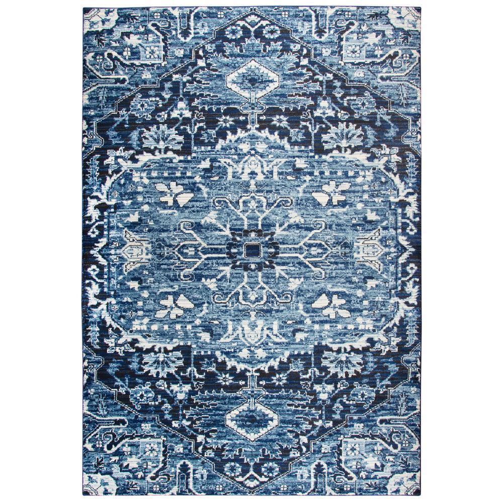 Panache Light Blue 6 ft. 7 in. x 9 ft. 6