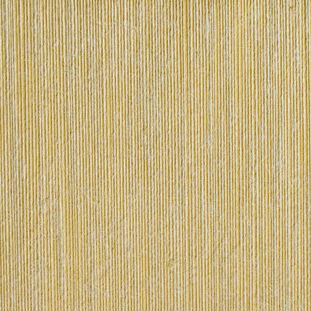 The Wallpaper Company 72 sq. ft. Ochre Textured Strings Wallpaper-DISCONTINUED