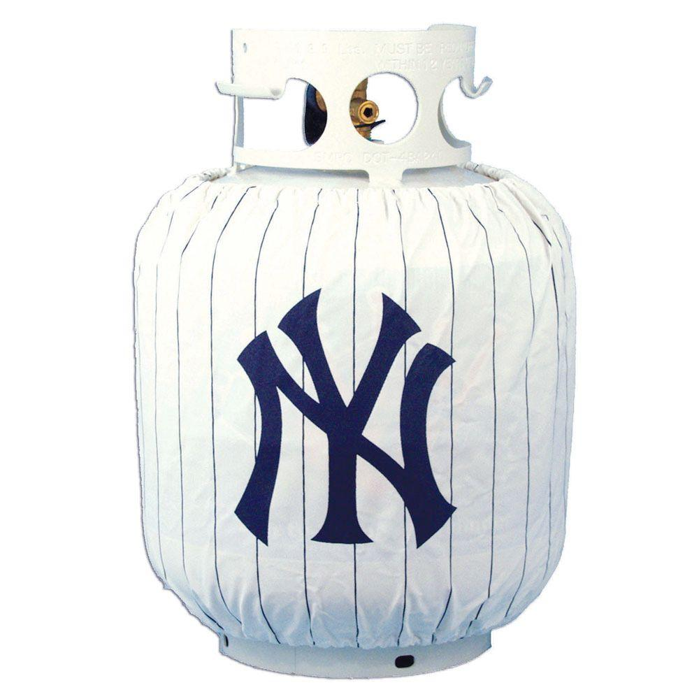 Team Sports America New York Yankees MLB Grill Propane Tank Cover