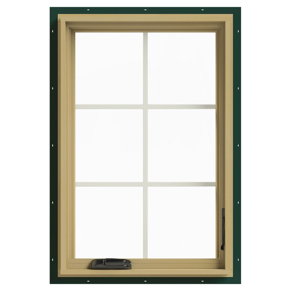 Jeld wen 24 in x 36 in w 2500 right hand casement for Buy jeld wen windows online