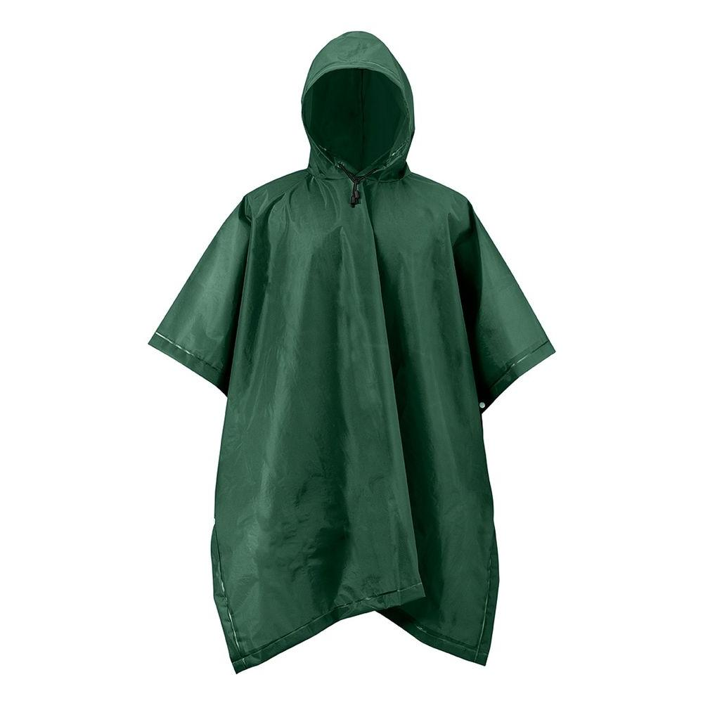 Mossi XT Series One Size Green Adult Rain Poncho Forest