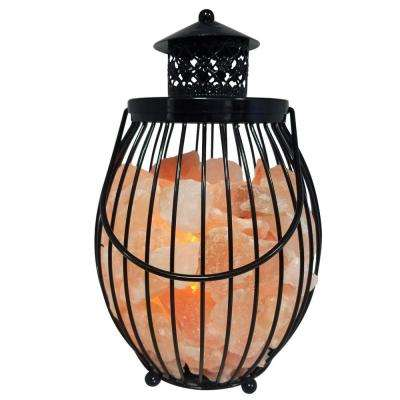 10.8 in. Ionic Crystal Natural Salt Lantern