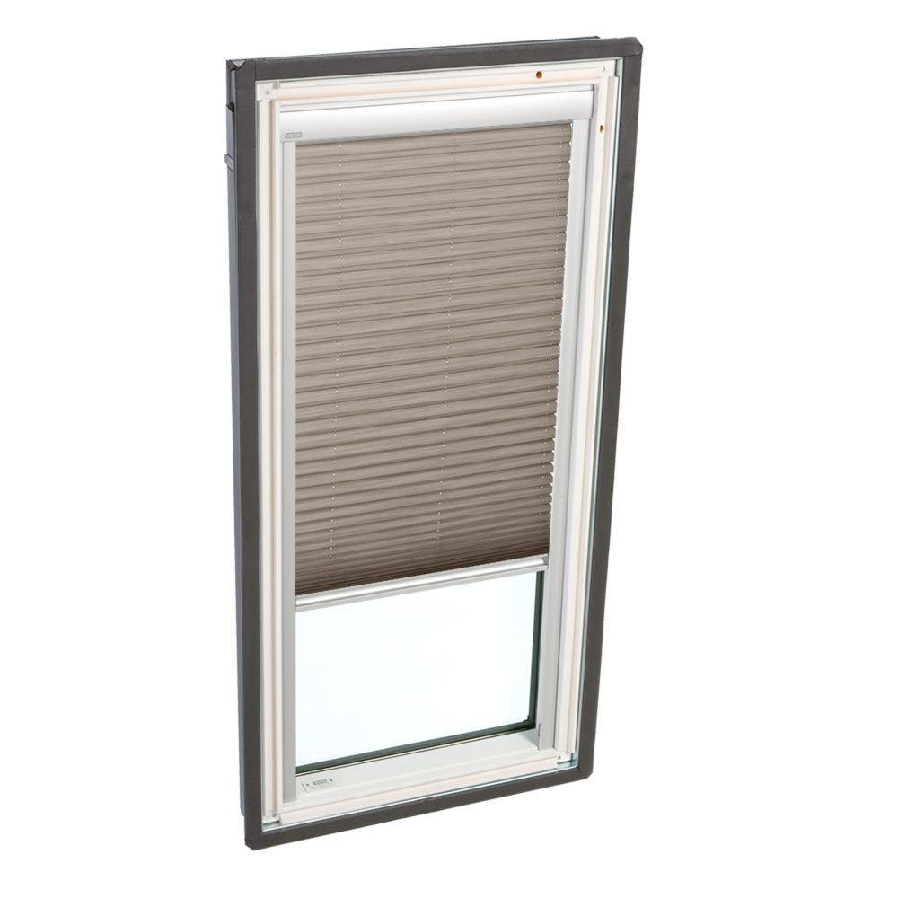 Velux White Manual Light Filtering Skylight Blinds For Gxu