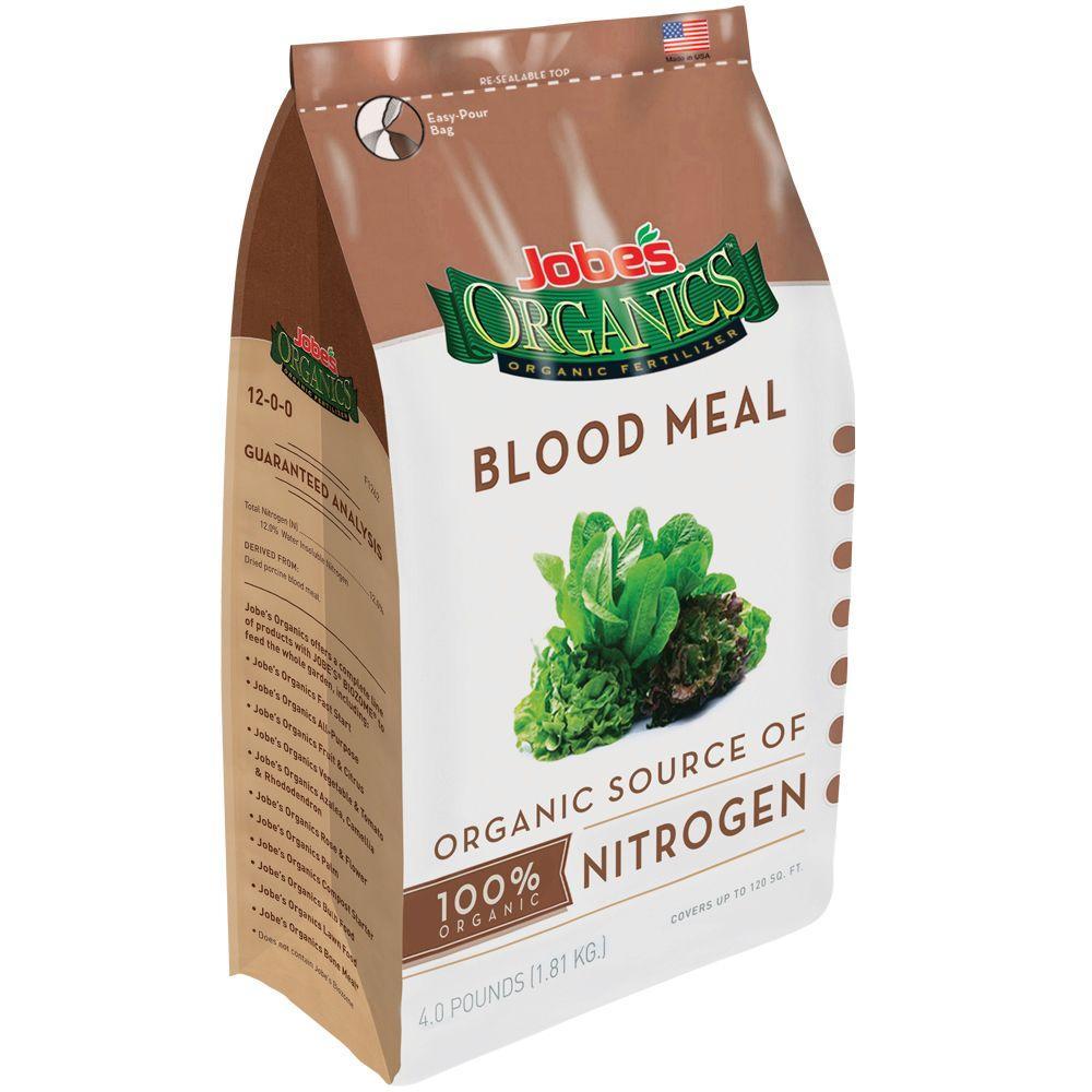 3 lb. Organic Blood Meal Plant Food Fertilizer, OMRI Listed