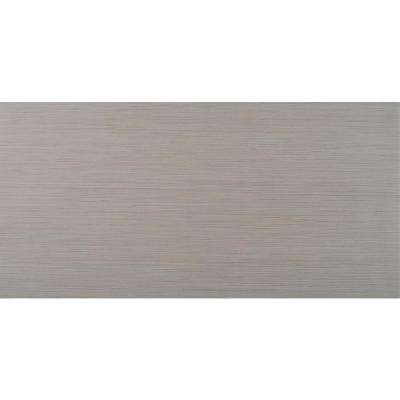 Metro Glacier 12 in. x 24 in. Glazed Porcelain Floor and Wall Tile (16 sq. ft. / case)
