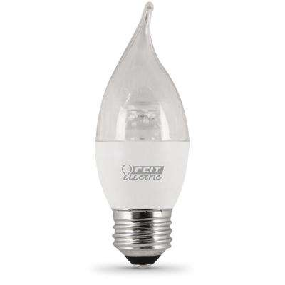 60W Equivalent Daylight Chandelier B10 Dimmable LED Medium Base Light Bulb (Case of 12)