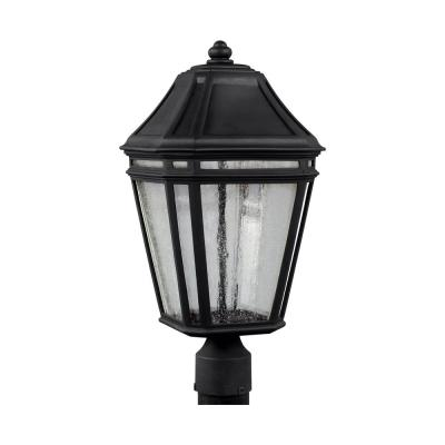 Londontowne Medium Black Integrated LED Post Light