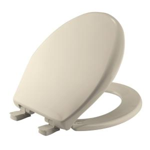 Bemis Affinity Round Closed Front Toilet Seat in Almond by BEMIS