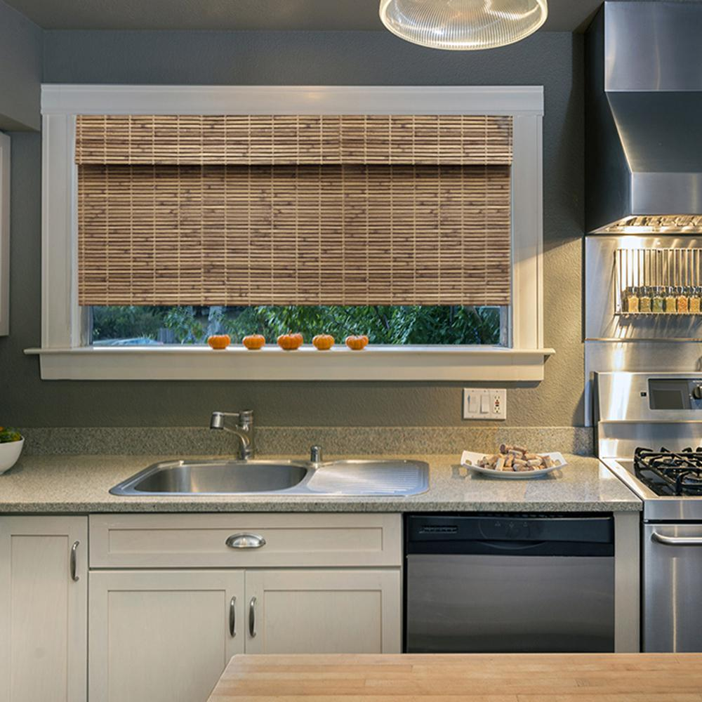 Home Decorators Collection Blinds: Home Decorators Collection Cordless Cut-to-Width Driftwood