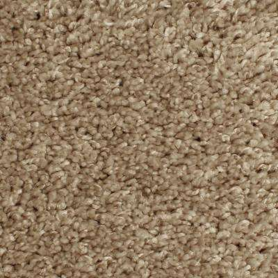 Carpet Sample - Pioneer - Color Oatbarn Twist 8 in. x 8 in.