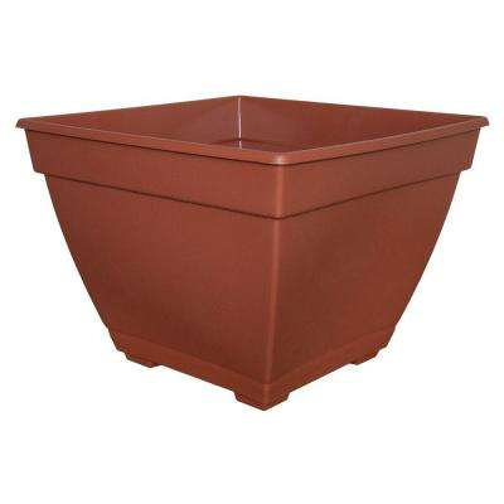 Newbury 14.88 in. x 15 in. Light Terra Plastic Deck Box