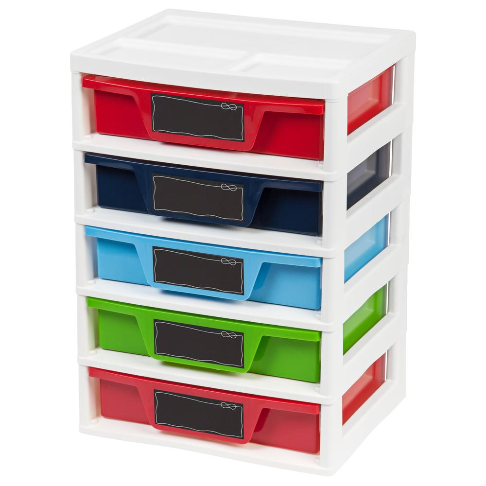 14.6 in. x 20.65 in. Drawer Storage and Organizer Chest