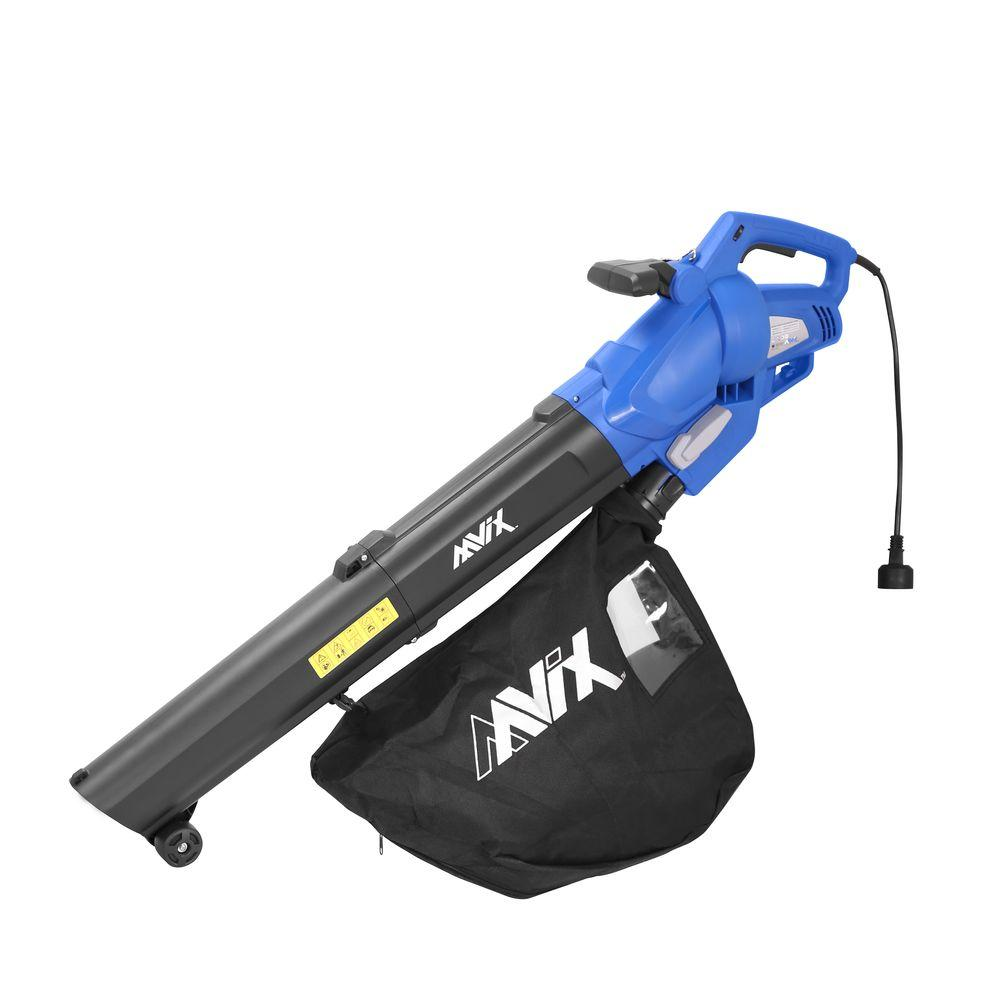 12-Amp Electric All-in-One Variable Speed Blower/Vacuum/Mulcher