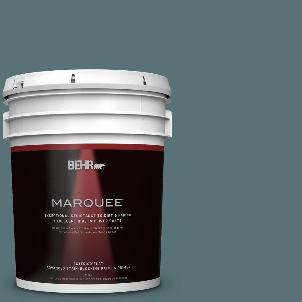 5-gal. #PPU13-2 Juniper Berries Flat Exterior Paint