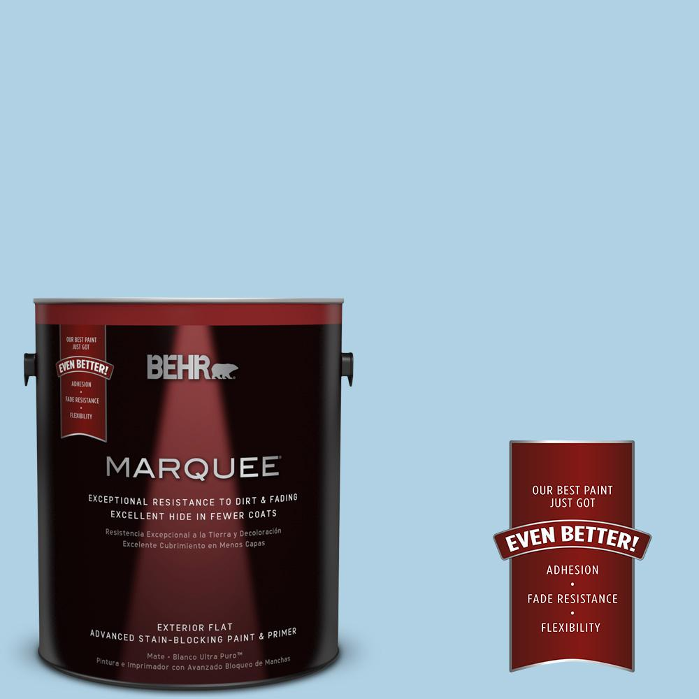 BEHR MARQUEE 1-gal. #560C-3 Holiday Road Flat Exterior Paint