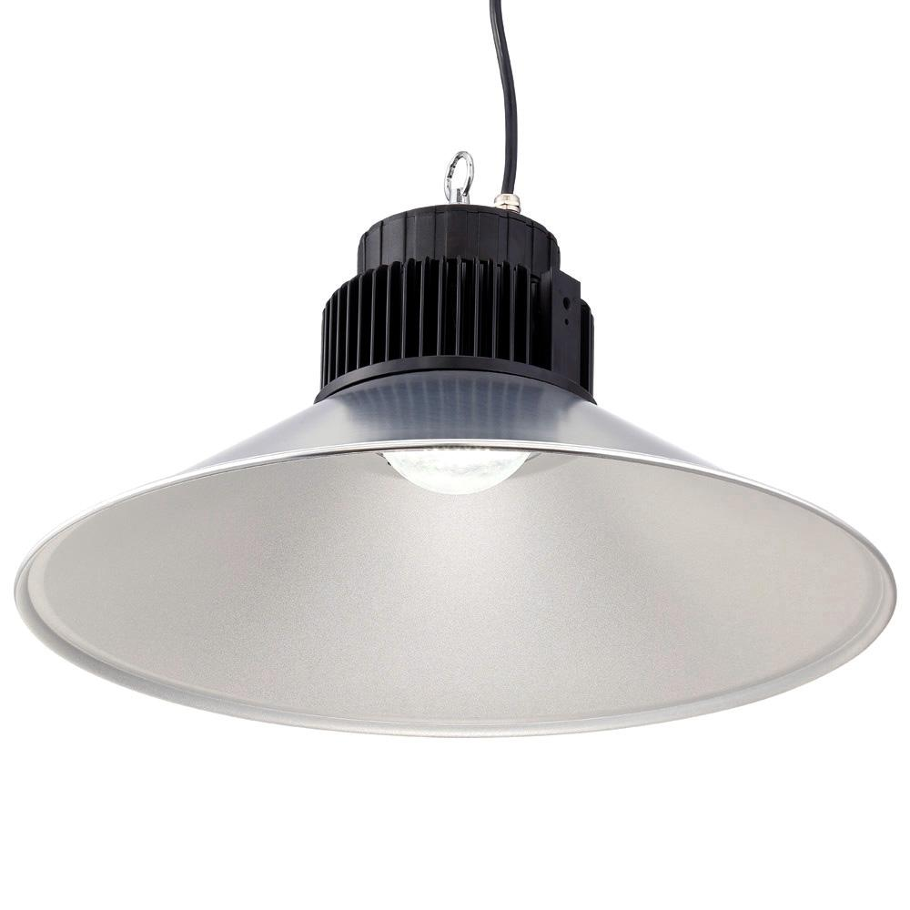 Dia LED Backlit High Bay 5000 CCT Hanging Light  sc 1 st  The Home Depot : high bay led lighting - azcodes.com