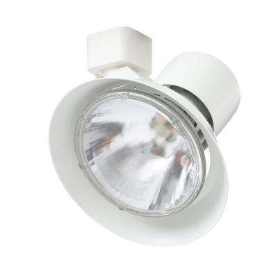 Trac-Lites White Flared-Gimbal Light