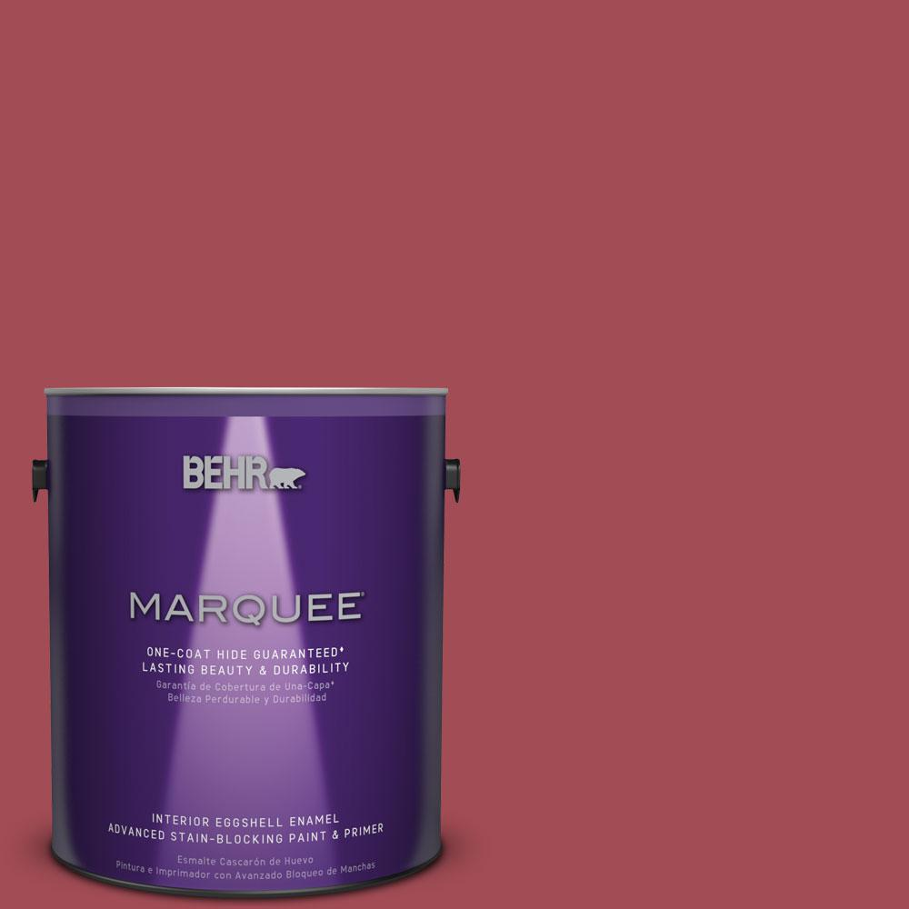 1 gal. #HDC-FL15-02 Cranberry Jam Eggshell Enamel Interior Paint
