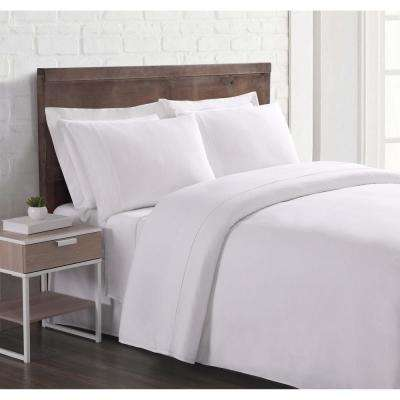 Nature Flax Linen White King Sheet Set Sheet Set