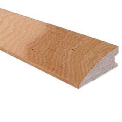 Unfinished Hickory 0.75 in. Thick x 1.5 in. Width x 78 in. Length Flush-Mount Reducer Molding