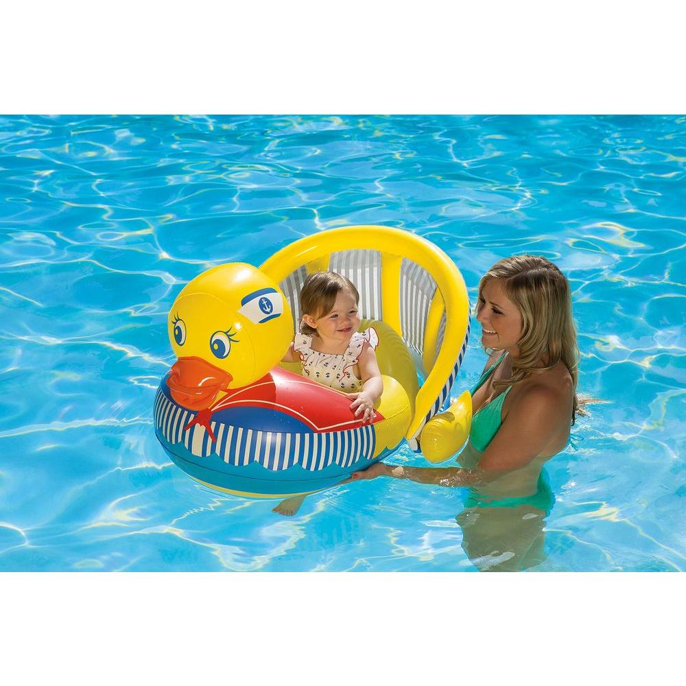 Baby Duck Rider  sc 1 st  The Home Depot & Pool Baby Float - Pool Floats - Pools u0026 Pool Supplies - The Home Depot