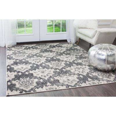 Oxford Taupe/Gray 7 ft. 10 in. x 10 ft. 2 in. Area Rug