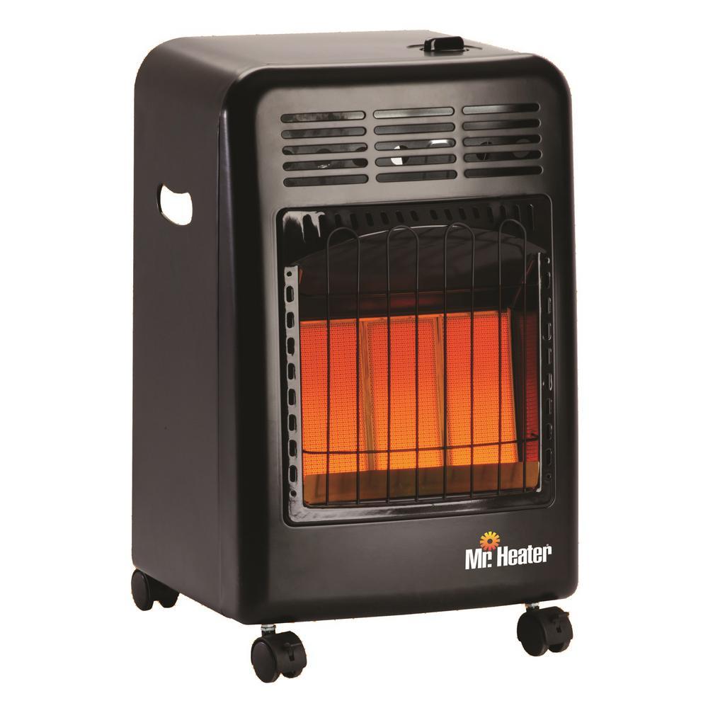 18,000 BTU Radiant Propane Portable Cabinet Heater