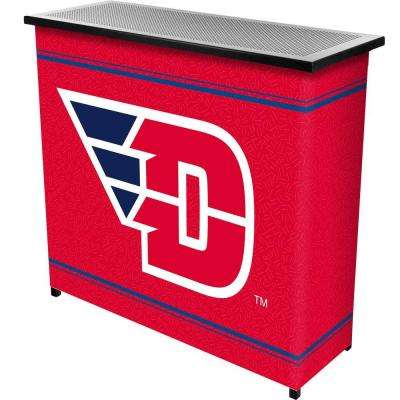University of Dayton 2-Shelf Black Bar with Case