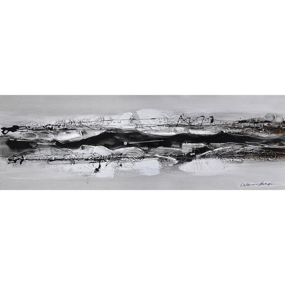 Yosemite Home Decor 36 in. x 12 in. Eternal I Hand Painted Contemporary Artwork-DISCONTINUED